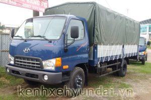Giới thiệu xe tải Hyundai HD700 Đồng Vàng Mui Bạt 7 Tấn