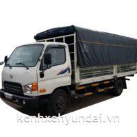 Xe tải Hyundai HD120S Thùng mui bạt 8,5 Tấn