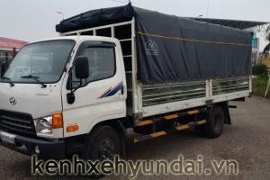 Giới thiệu xe tải Hyundai HD99 Đô Thành mui bạt 6,5 Tấn