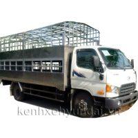 Xe tải Hyundai HD99 6,5T chở lợn, gà